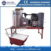 SUN TIER Fishery and Seafood Flake ice machine/5ton stainless steel ice machine / commercial snow flake ice machine