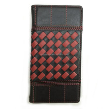 woven pattern flip cover wholesale cell phone case