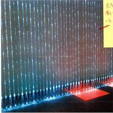 optical fiber tip bead curtain