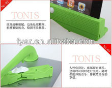 silicone loud-speaker/microphone without electron device for phone