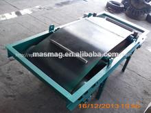 Baiyun Rcyc Crossbelt separador magnético para la magnetita del mineral de hierro