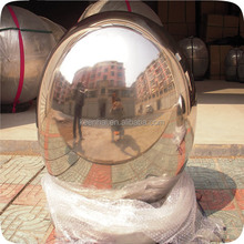 100mm Hollow Mirror Decorative Stainless Steel Mirror Ball Gold