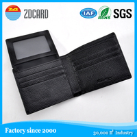 RFID Blocking Stylish Genuine Leather Wallet for Men - Excellent as Travel Bifold - Credit Card Protector