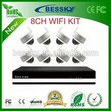 2015 Hot sale Bessky security camera, outdoor wireless wifi ip camera,cctv camera set