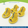 Lovoyager Soft felt dog shoes black with great price