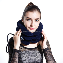 three inflatable tubes of cervical neck collar cervical pillow soft cervical collar cervical protector with CE approved
