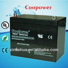 Coopower Deep cycle gel battery / VRLA /12V 70Ah for solar system