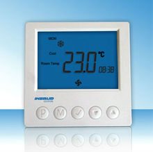 LCD Display Digital Room Thermostat For Fan Coil Unit With Good Quality