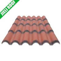 High quality corrugated pvc plastic roof tile
