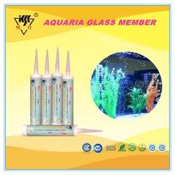 Acetic mould-proof , Professional Aquarium Fish Tank silicone sealant