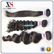 Real virgin cheap wet and wavy virgin indian remy hair extension blend weave curly hair weave adorable hair weave