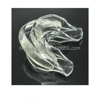 silicon prefilled mouth tray, teeth whitening mouth guard