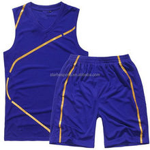 Bottom price hot sale custom basketball uniform manufacture
