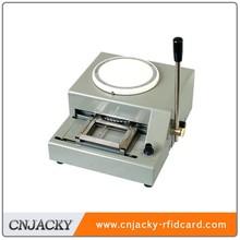 CNJ-2000 Manual plastic card embosser machines