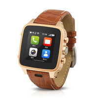 2014 Hot Selling Android Bluetooth GPS WiFi Dual core Smart Watch Phone