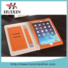 Flip card holder leather for ipad air case