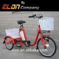 Bicicleta eléctrica 3 ruedas para adultos( e- tdr03)
