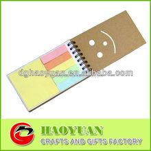 Cheap 5 Color kraft sticky notes for promotion-HYSN007