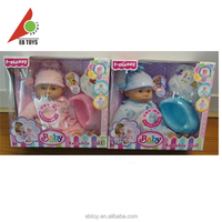 New design soft plastic baby toy dolls wholesale vinyl dolls for girl