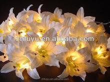 Patio decorative flowers rattan