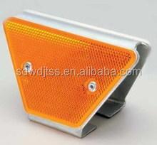 Highway crash barrier accessory/ reflector