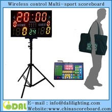 "Electronics basketball scoreboards with built-in 24 seconds shot clock 14""S shot timer"