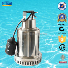 Stainless Steel Sump Pumps with CSA certification - stainless steel water pump