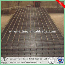 square grid reinforcing concrete rebar welded mesh