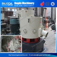 Recycled Plastic Film/Fiber/Woven Bag Material Agglomerator Recycling Machine For Sale
