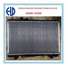 factory best selling aluminum auto radiator for toyota ipsum
