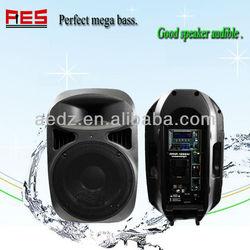 Aier 12 inch 1000 Watt Powered Full Range Loud Speaker System with MP3 USB Dock