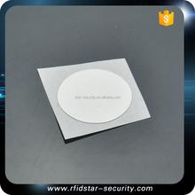 Smart NFC Epoxy Key Tag 28 mm Circle - NTAG213 - White