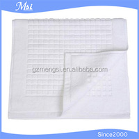 100% cotton hotel bathroom floor towel/hotel floor mat for sale