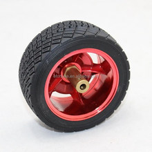 83 mm rubber car wheels /35 mm wide small car tire/ intelligent robot tracking car chassis parts