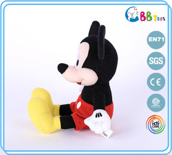 Dongguan newest minnie mouse plush toys stuffed soft mickey mouse toy