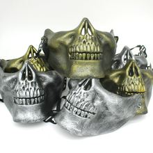 Field skull mask Halloween mask full face protection mask of terror outdoor supplies wholesale