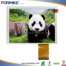 5 inchdisplay LCD with resistive or capacitive touch panel, ROHS & CE comply