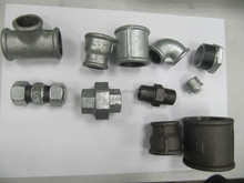 black / galvanized malleable cast iron pipe fittings