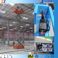 Battery Powered Electric Small Aluminium Scissor Lift