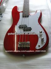 de alta calidad baratos 4 cuerdas bajo eléctrico guitarras para la venta