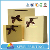 packaging jewelry gift bag in superior quality art paper