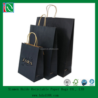 2015 China wholesale custom paper bags with handles
