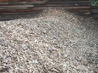 bricket, palm kernel shell, wood chips