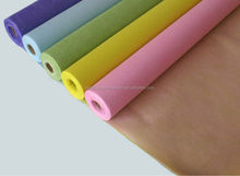 PET non-woven fabrics floral wrapping paper and flower bouquet/attractive floral wraps sheet 17g-41g