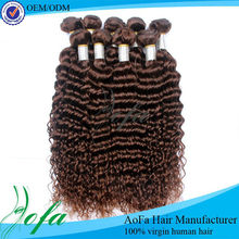 16 inch to 36 inch 100% unprocessed kinky curly clip in hair extensions