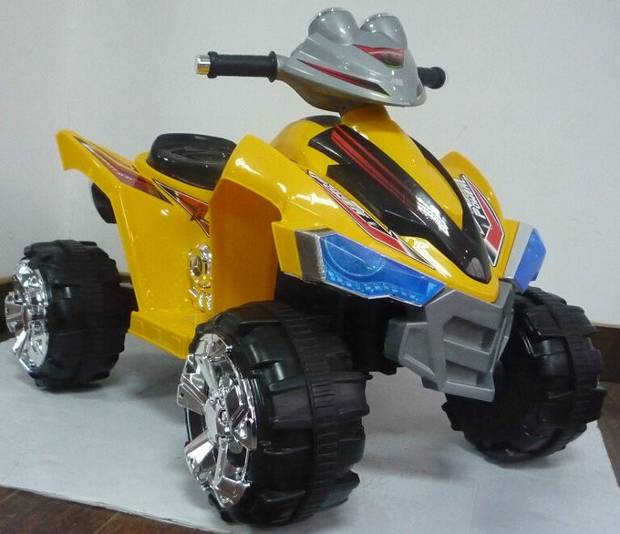 9917 yellow ride on car quad bike atv.jpg