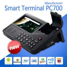 android pos machine,handheld android pos terminal,Coretex A7 Quad Core,all in one pos system,wifi,bluetooth,MSR,NFC,1D/2D
