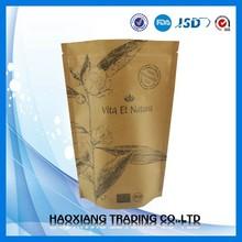 High Quality Food grade Unique pack kraft paper food bag/packaging manufacturers