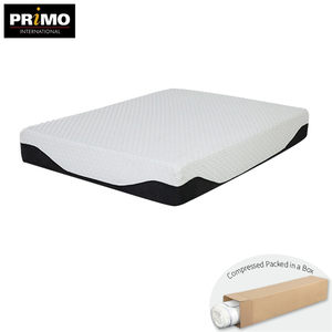 Роскошные 11 дюймов сжатия roll up пены encased охлаждения гель пены памяти кровать весна губка matress