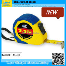 New Professional 7.5 meter Measuring Tape, Cover Rubber Tape Measure